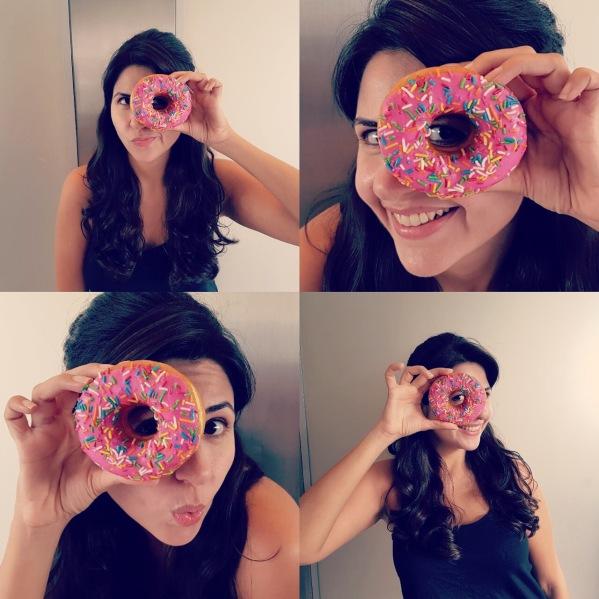 eyes - donut