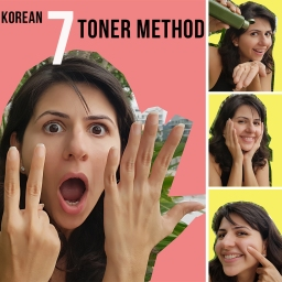 The Korean 7 Toner Method will give you the plumpest, dewiest, bounciest skin ever!